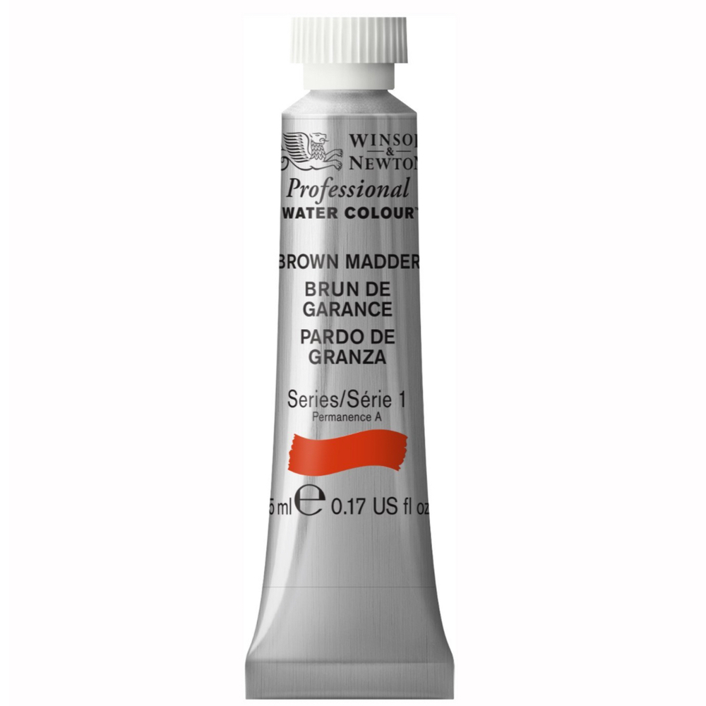 W&N Artist Watercolor 5Ml Brown Madder