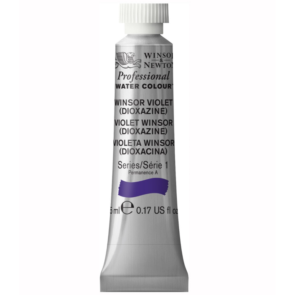 W&N Artist Watercolor 5Ml Winsor Violet Diox