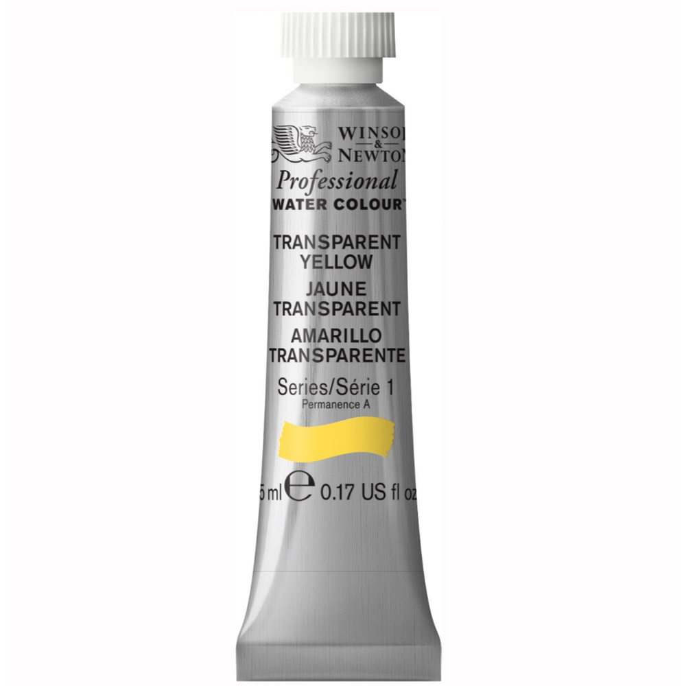 W&N Artist Watercolor 5Ml Trans Yellow