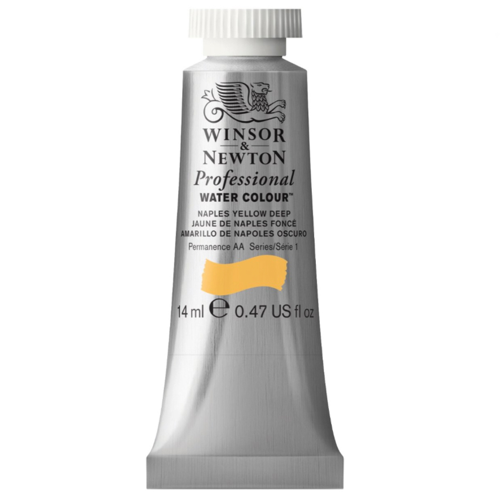 W&N Artist Watercolor 14Ml Naples Yellow Dp