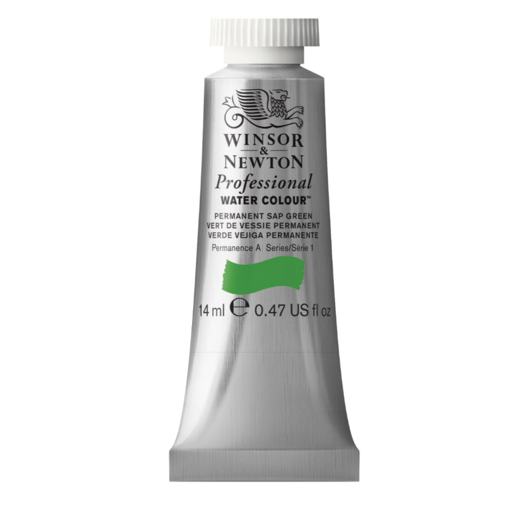 W&N Artist Watercolor 14Ml Perm Sap Green