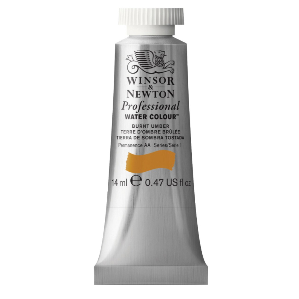 W&N Artist Watercolor 14Ml Burnt Umber