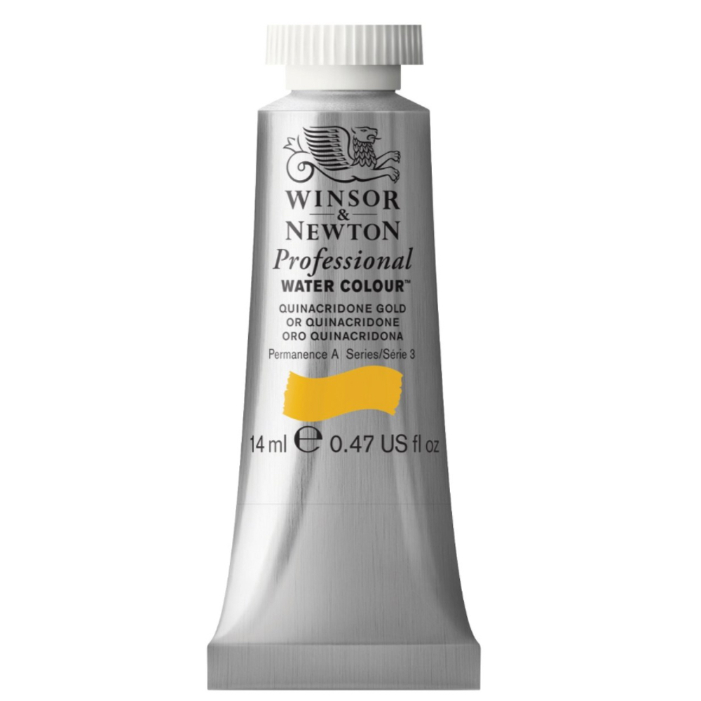 W&N Artist Watercolor 14Ml Quinacridone Gold