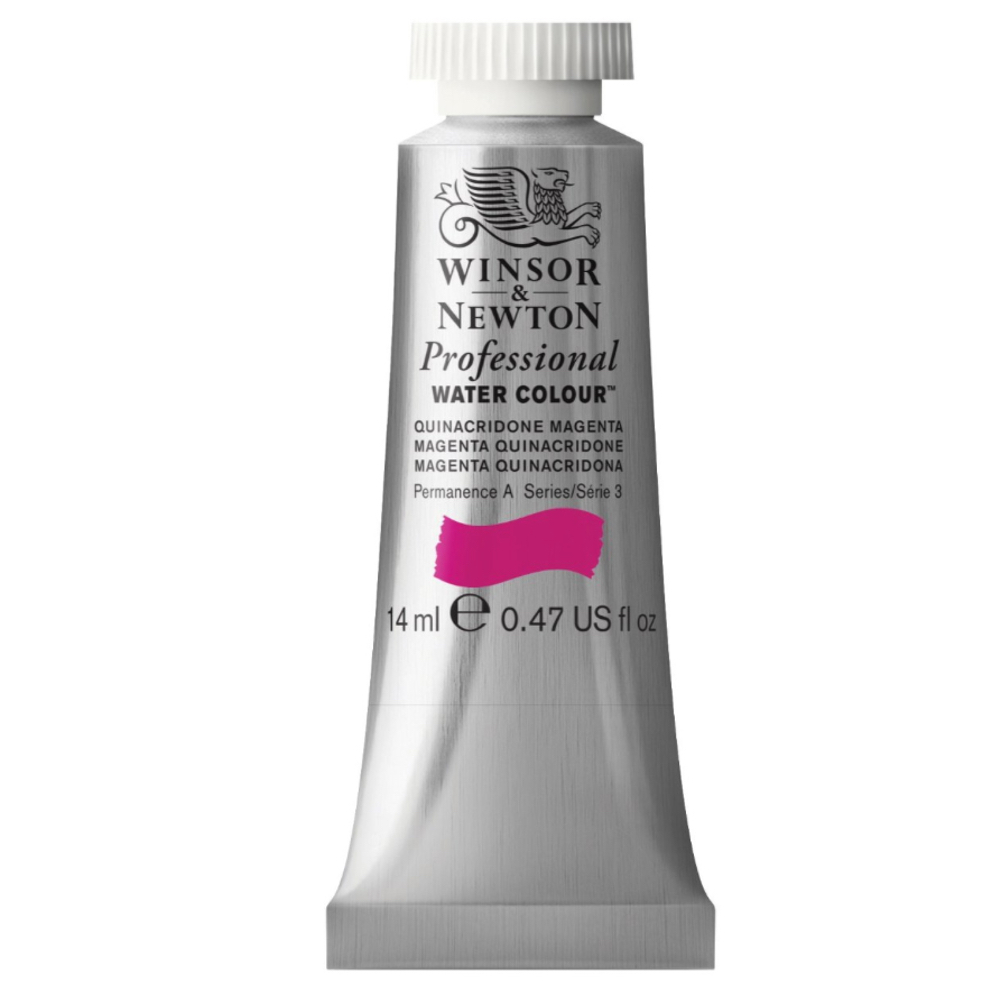 W&N Artist Watercolor 14Ml Quinacr Magenta