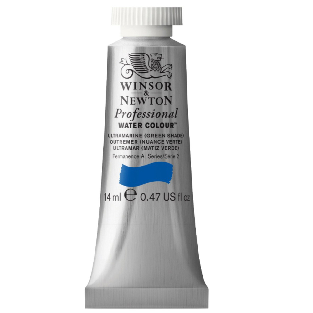 W&N Artist Watercolor 14Ml Ultramarine/Grn Sh