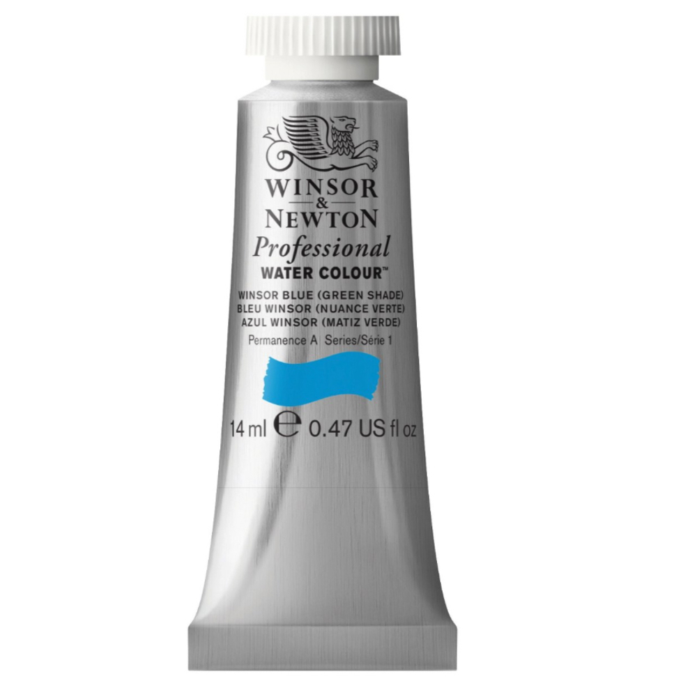 W&N Artist Watercolor 5Ml Winsor Bl/Gn Shade