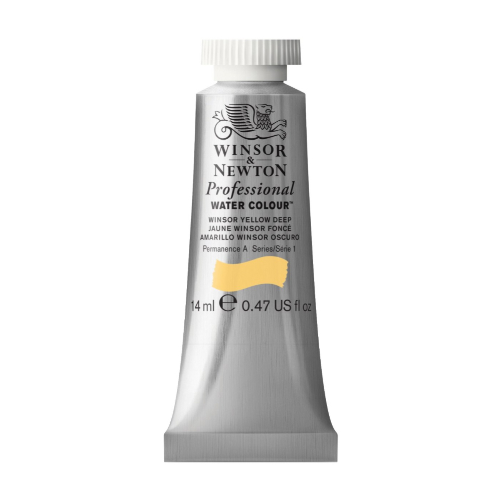 W&N Artist Watercolor 14Ml Winsor Yellow Deep