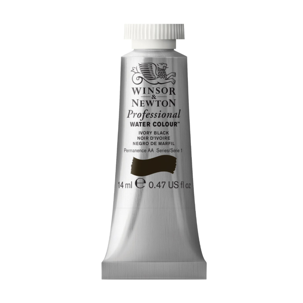 W&N Artist Watercolor 14Ml Ivory Black