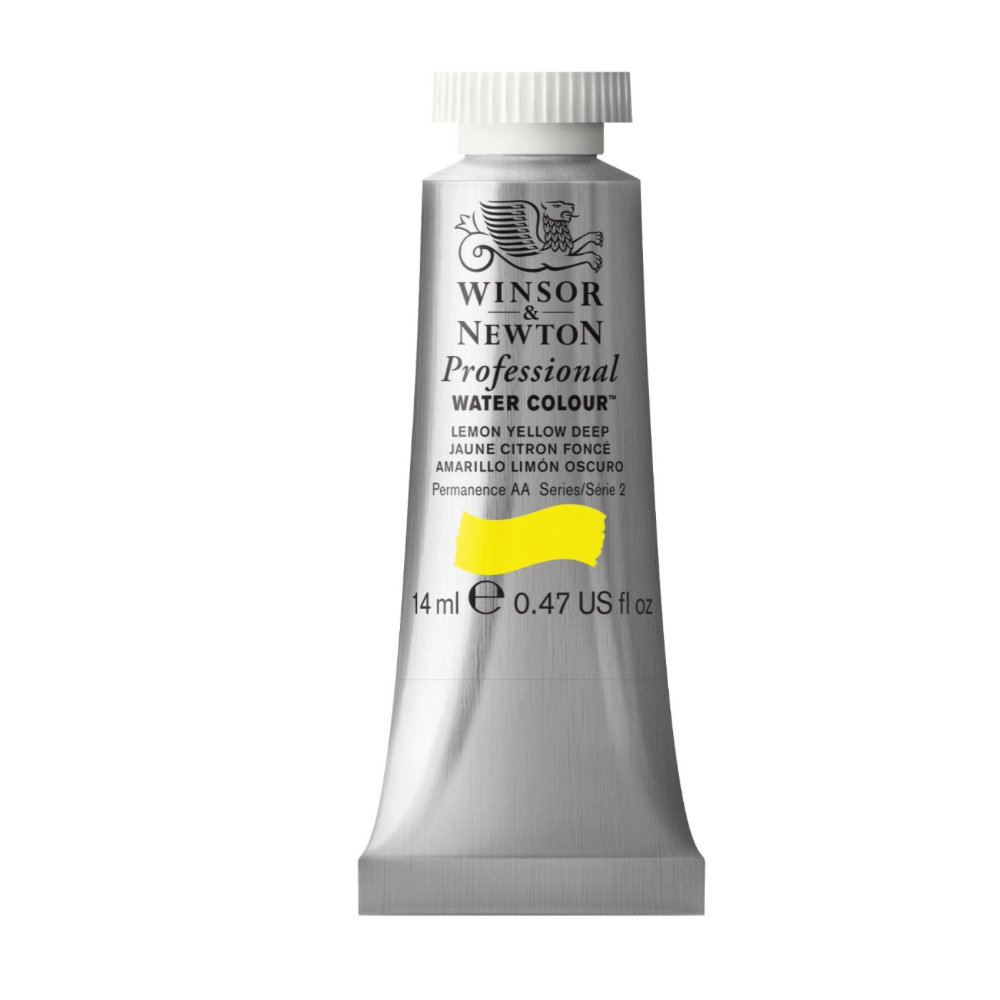 W&N Artist Watercolor 5Ml Lemon Yellow Deep