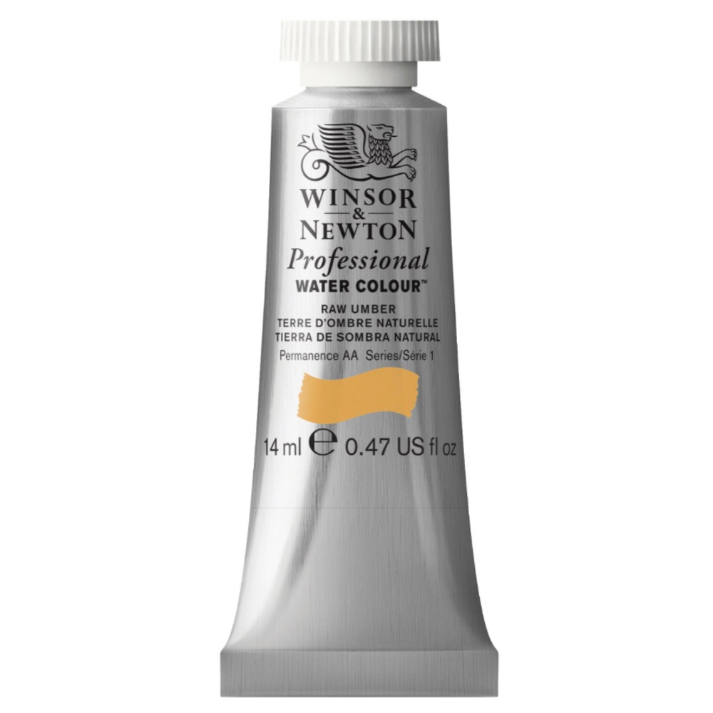 W&N Artist Watercolor 14Ml Raw Umber