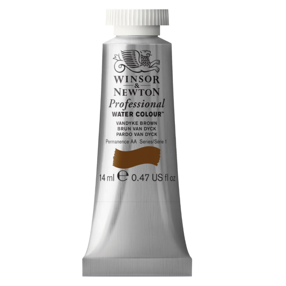W&N Artist Watercolor 14Ml Vandyke Brown
