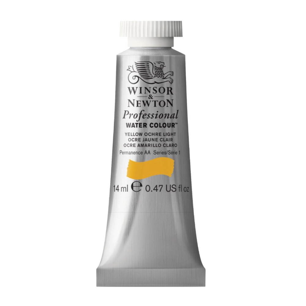 W&N Artist Watercolor 14Ml Yellow Ochre Light