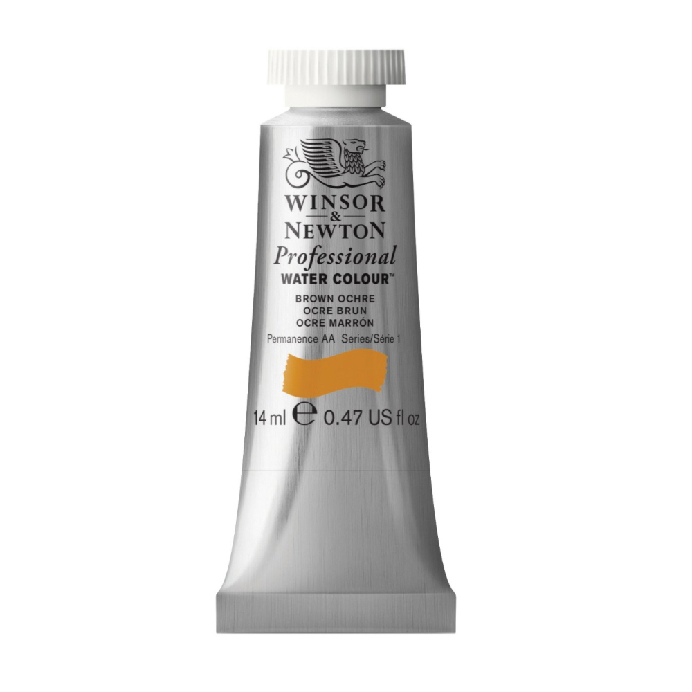 W&N Artist Watercolor 14Ml Brown Ochre