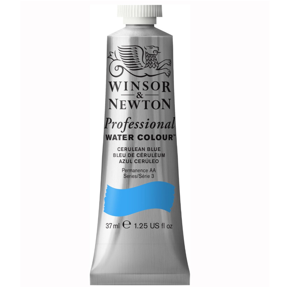 W&N Artist Watercolor 37Ml Cerulean Blue