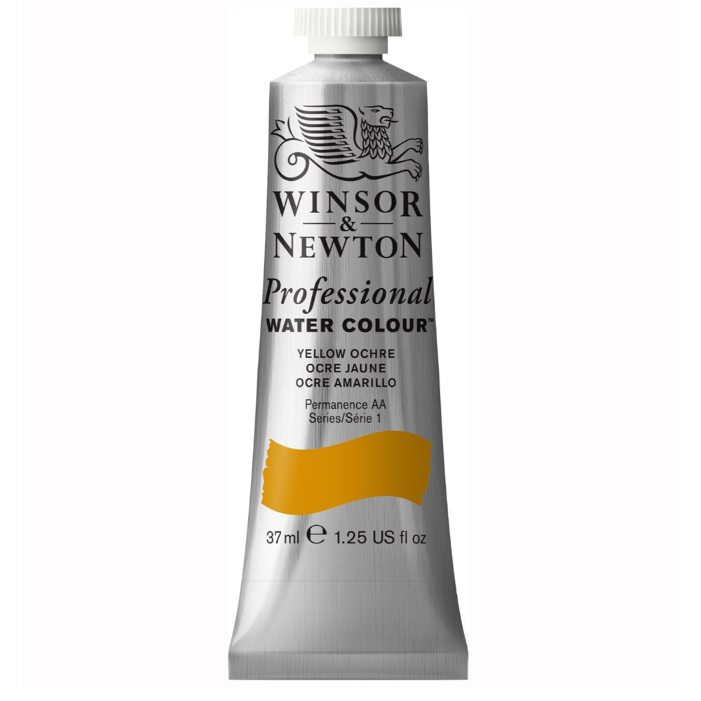 W&N Artist Watercolor 37Ml Yellow Ochre