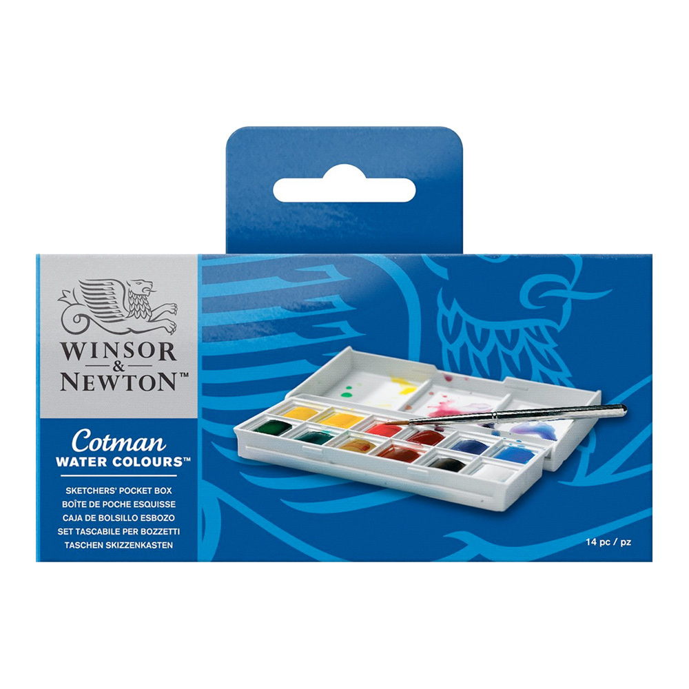 Cotman Watercolor Sketcher Set 12 Half Pans