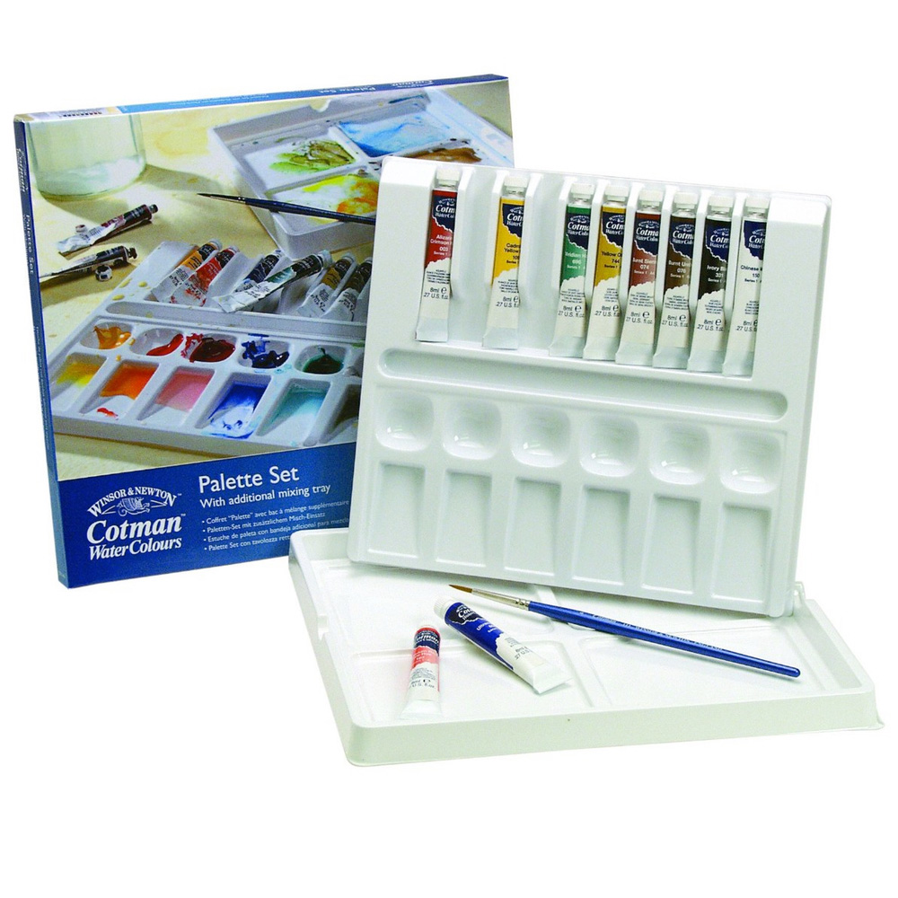 Cotman 10 Tube Palette Set 646