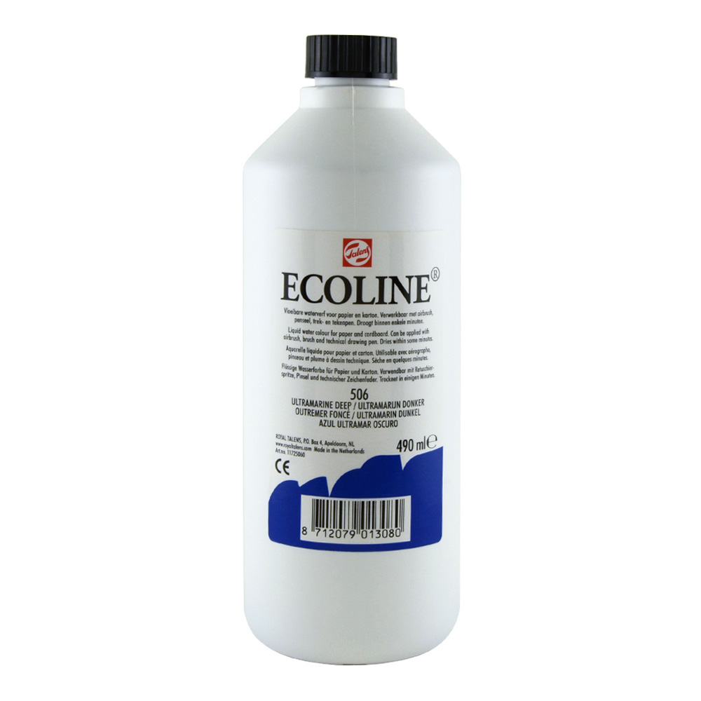 Ecoline Liquid Watercolor 490ml Ultramarine D