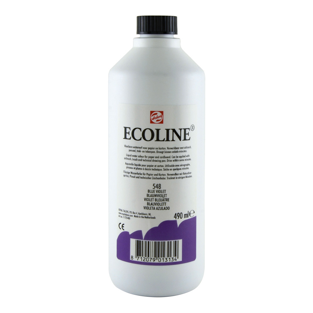 Ecoline Liquid Watercolor 490ml Blue Violet