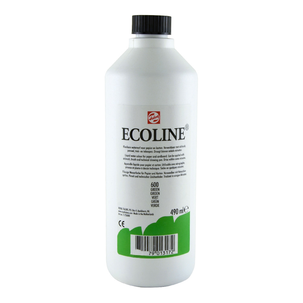 Ecoline Liquid Watercolor 490ml Green