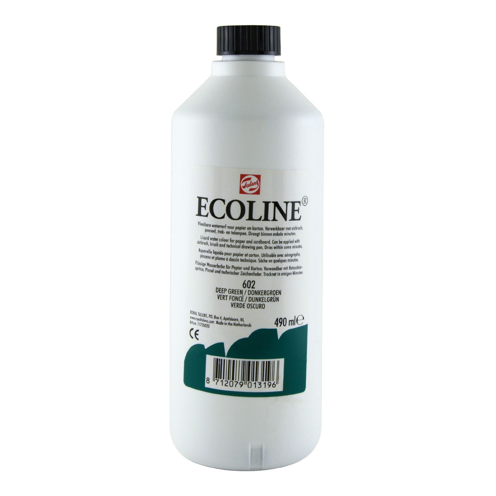 Ecoline Liquid Watercolor 490ml Deep Green