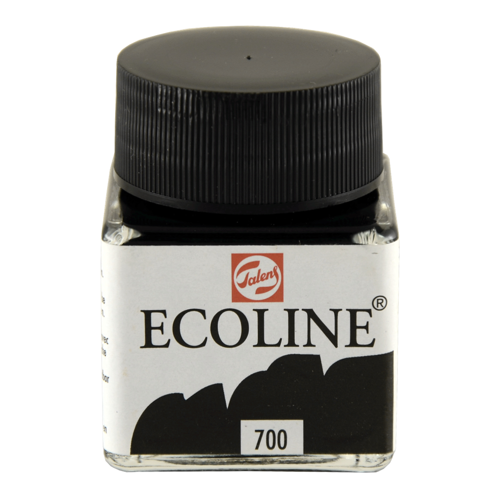 Ecoline Liquid Watercolor 30mL Black