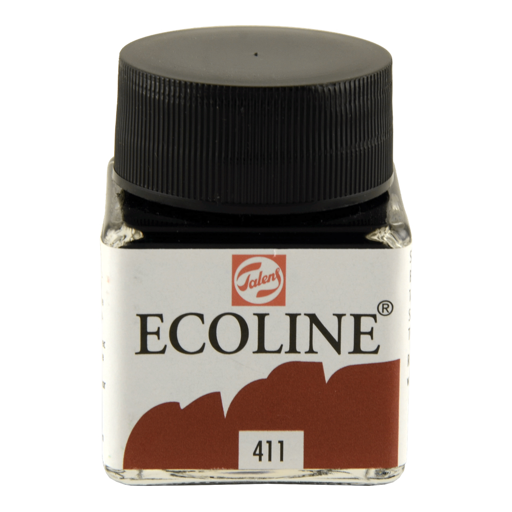 Ecoline Liquid Watercolor 30Ml Burnt Sienna