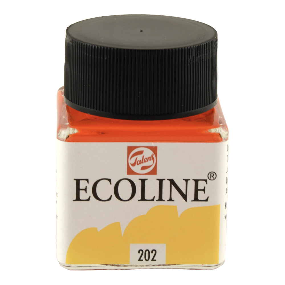 Ecoline Liquid Watercolor 30mL Deep Yellow