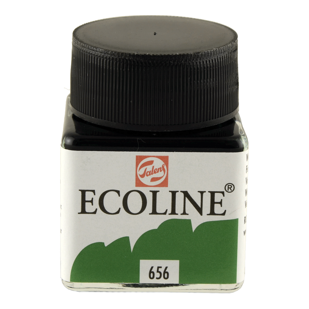 Ecoline Liquid Watercolor 30Ml Forest Green
