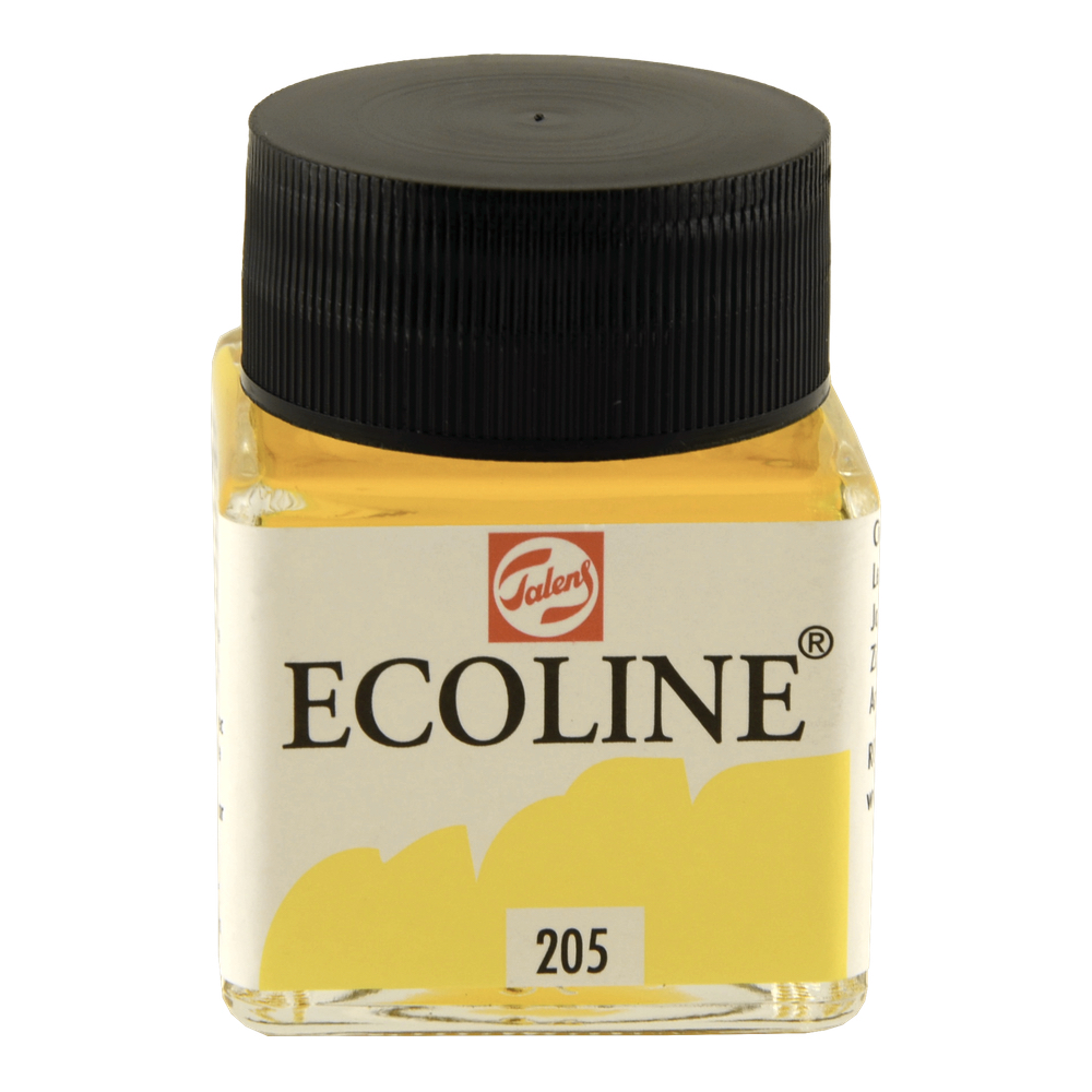Ecoline Liquid Watercolor 30Ml Lemon Yellow
