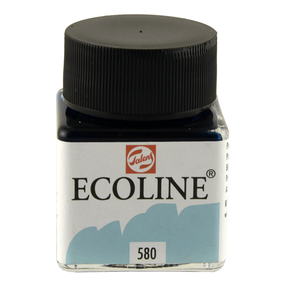 Ecoline Liquid Watercolor 30Ml Pastel Blue