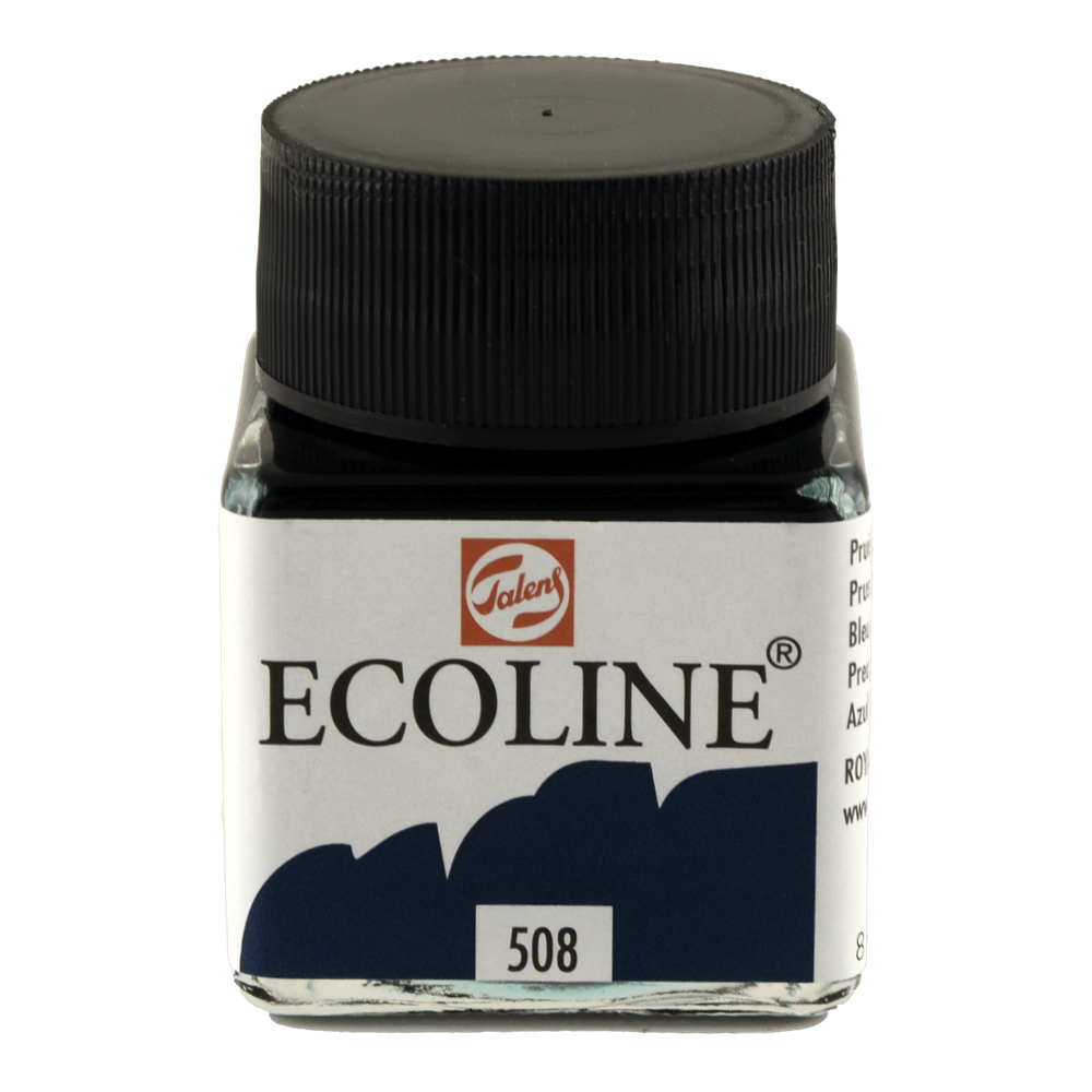 Ecoline Liquid Watercolor 30Ml Prussian Blue