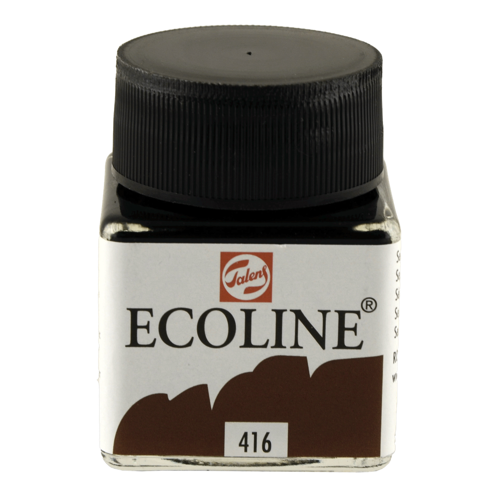 Ecoline Liquid Watercolor 30Ml Sepia