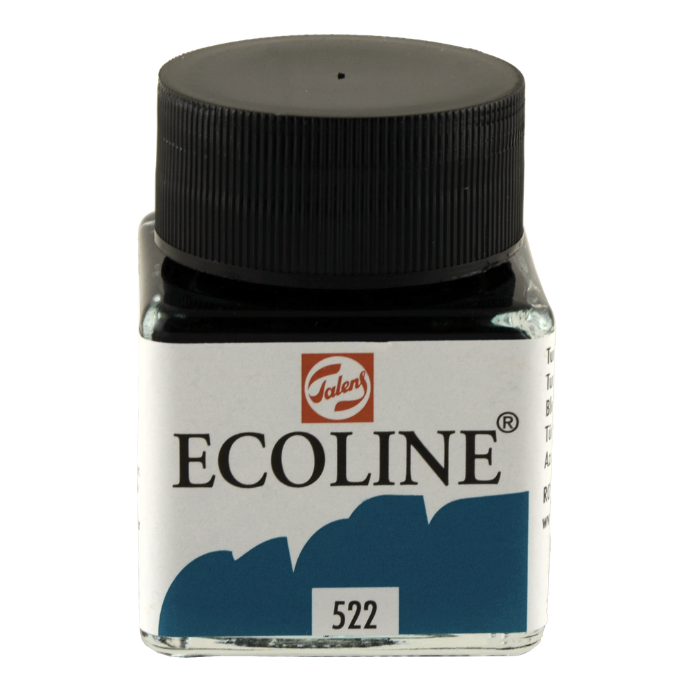 Ecoline Liquid Watercolor 30Ml Turquoise Blue