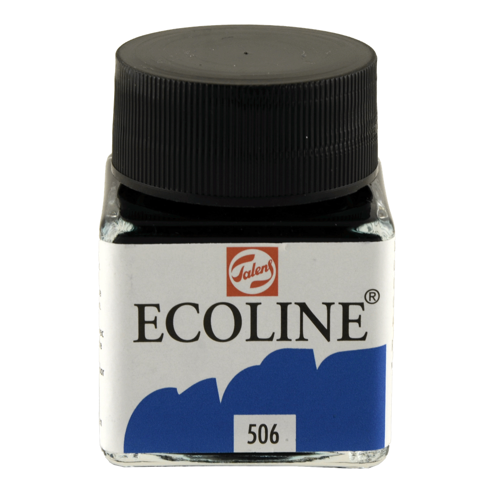 Ecoline Liquid Watercolor 30Ml Ultramarine Dp