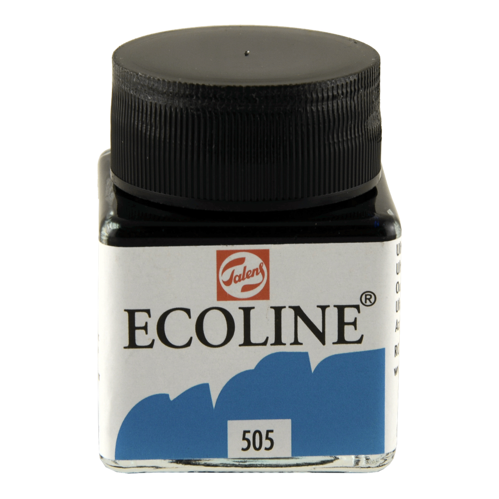 Ecoline Liquid Watercolor 30Ml Ultramarine Lt