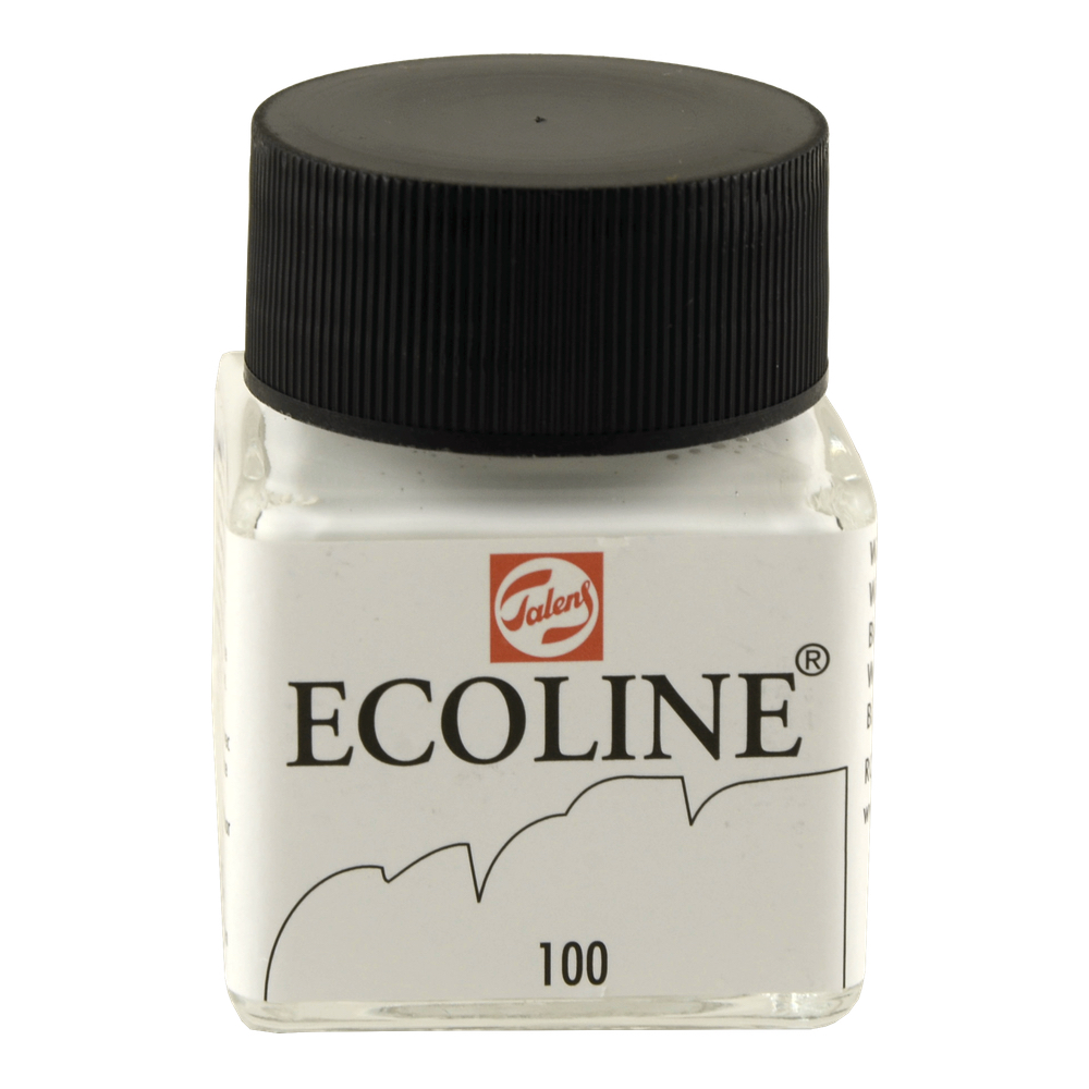Ecoline Liquid Watercolor 30Ml White