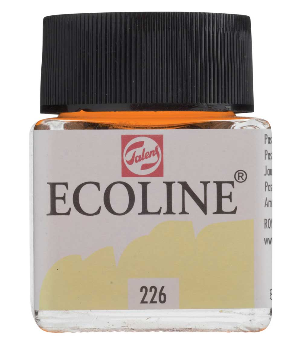 Ecoline Liquid Watercolor 30Ml Pastel Ylw