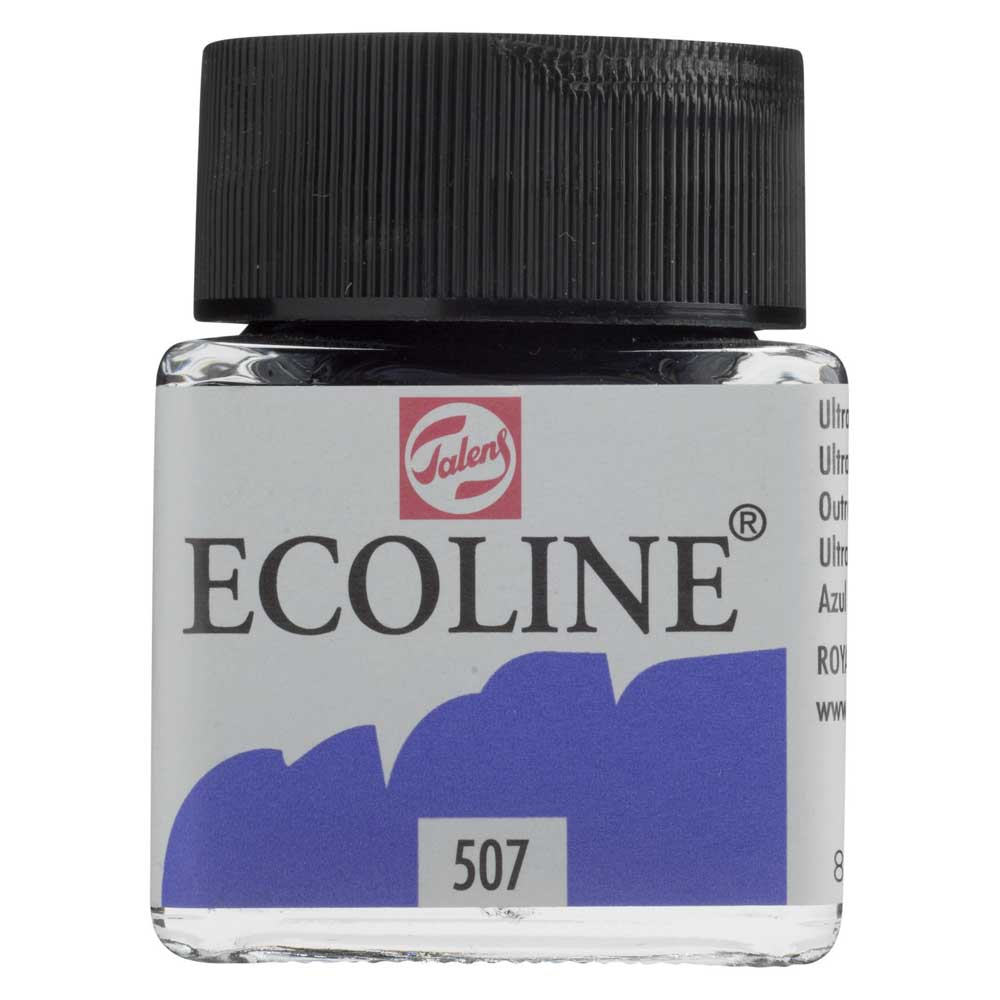 Ecoline Liquid Watercolor 30Ml Ultramarine Vi