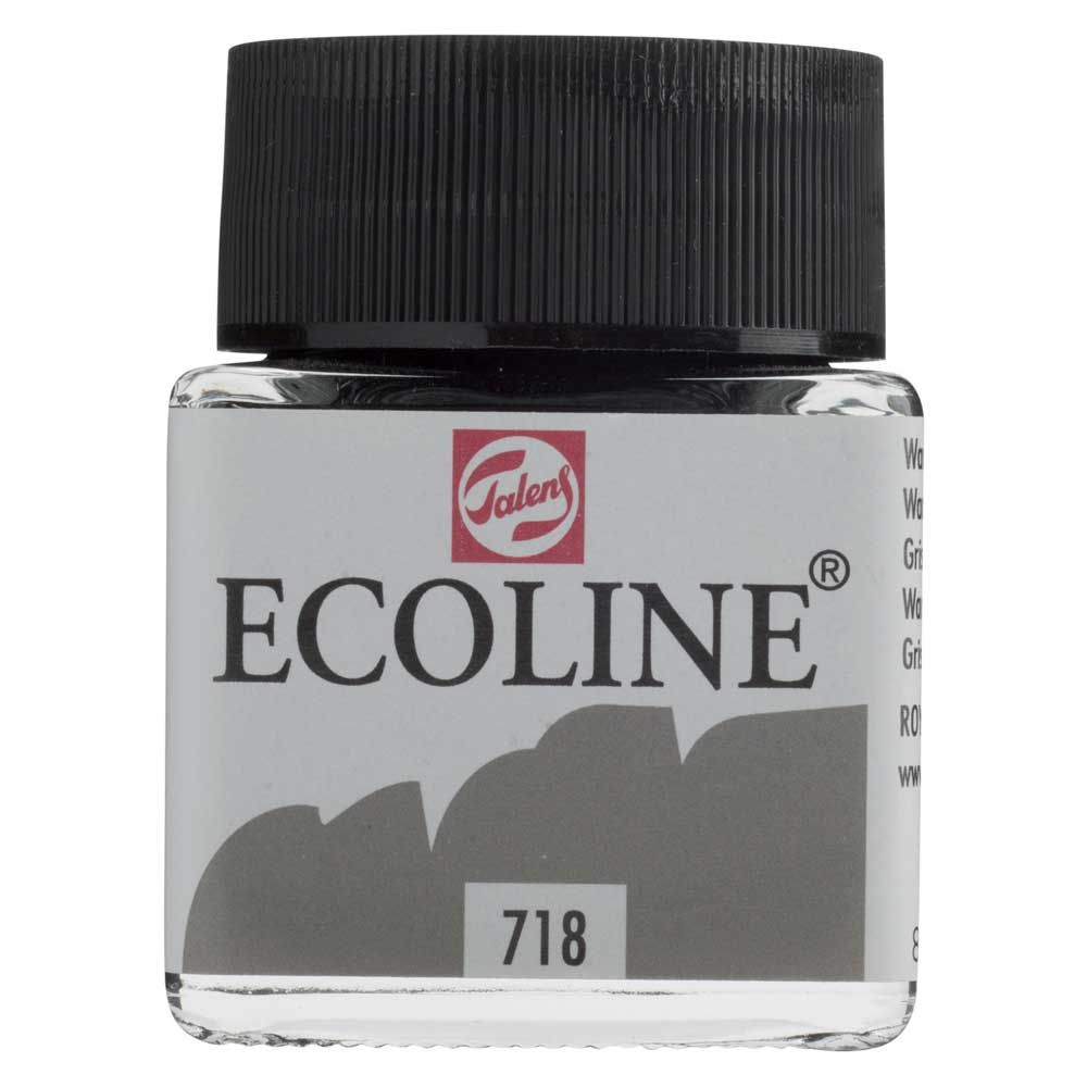 Ecoline Liquid Watercolor 30Ml Warm Grey
