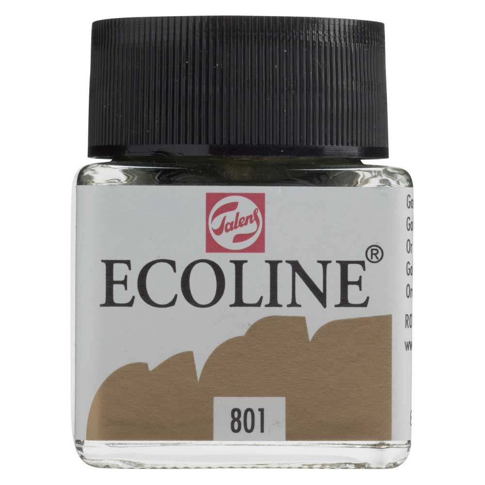 Ecoline Liquid Watercolor 30Ml Gold