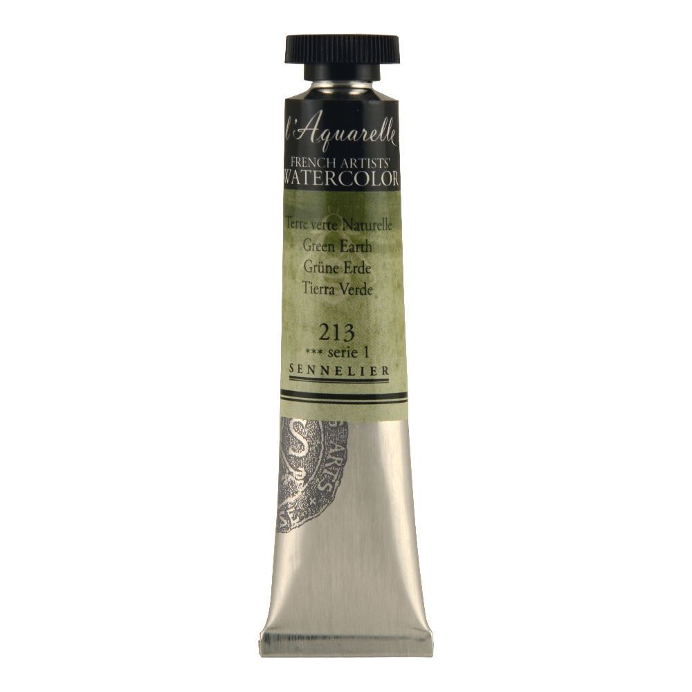 Sennelier 21ml W/C S1 Green Earth