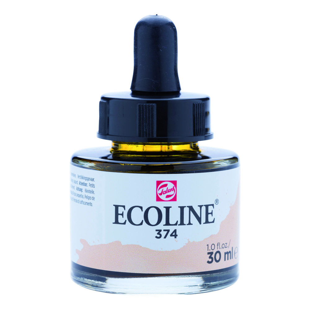 Ecoline Watercolor w/Pipette 30ml Pink Beige