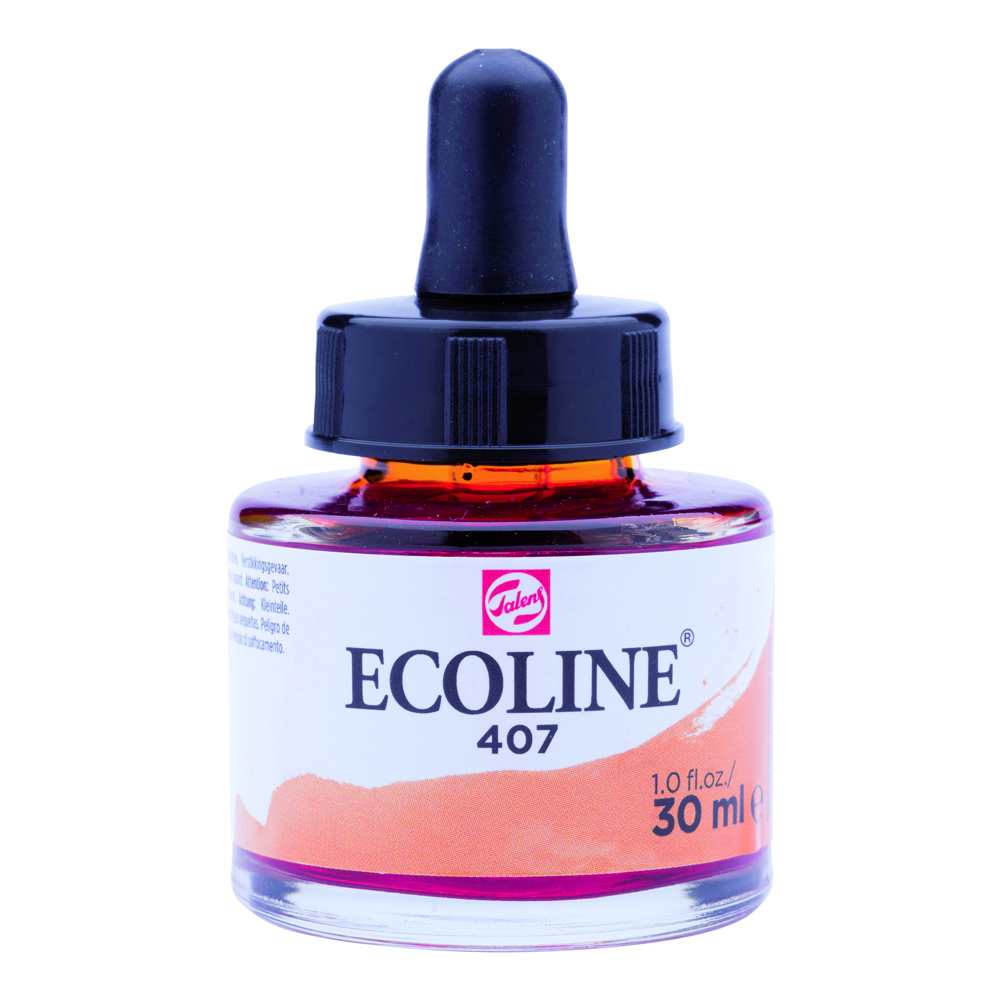Ecoline Watercolor w/Pipette 30ml Deep Ochre