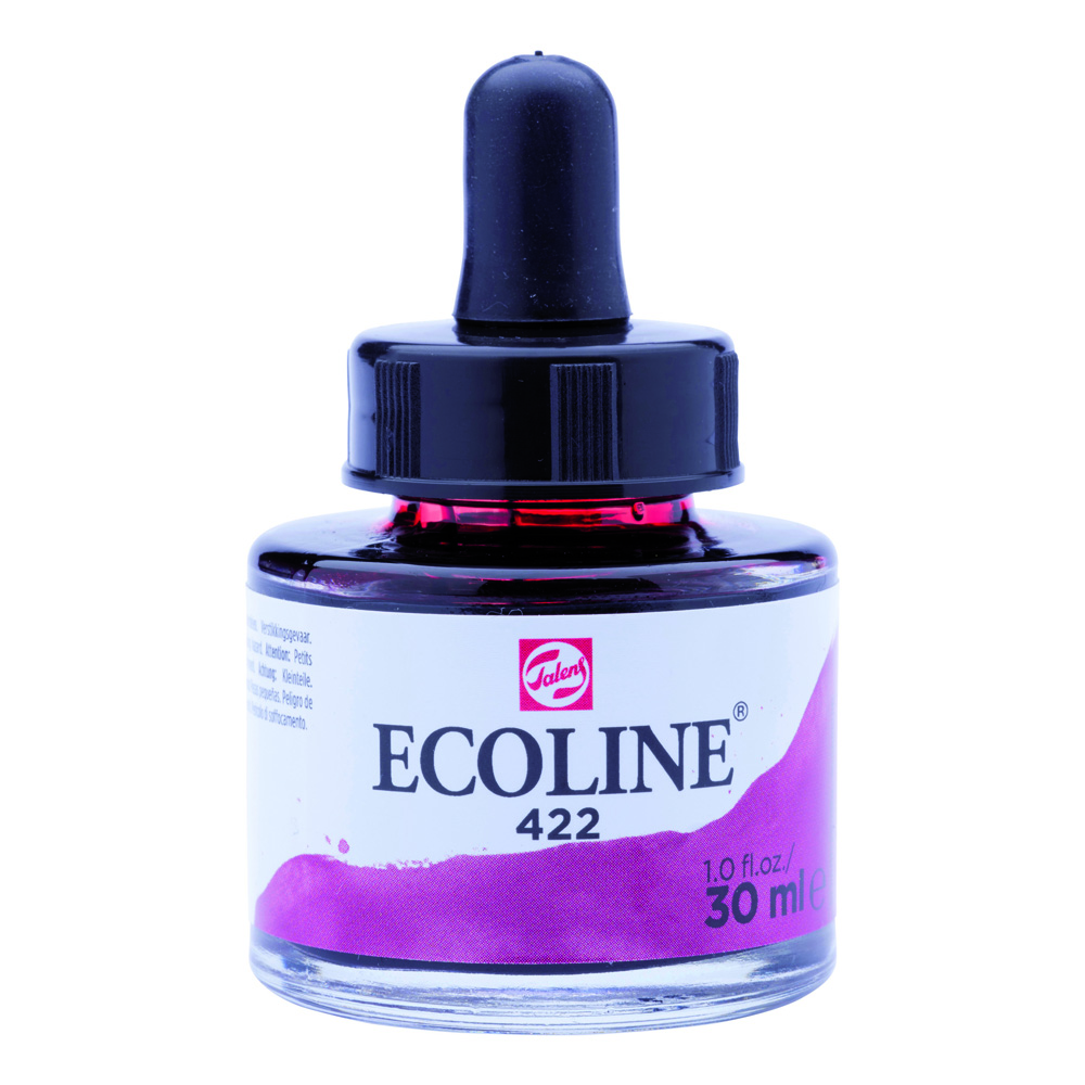 Ecoline Watercolor w/Pipette 30ml Reddish Brn