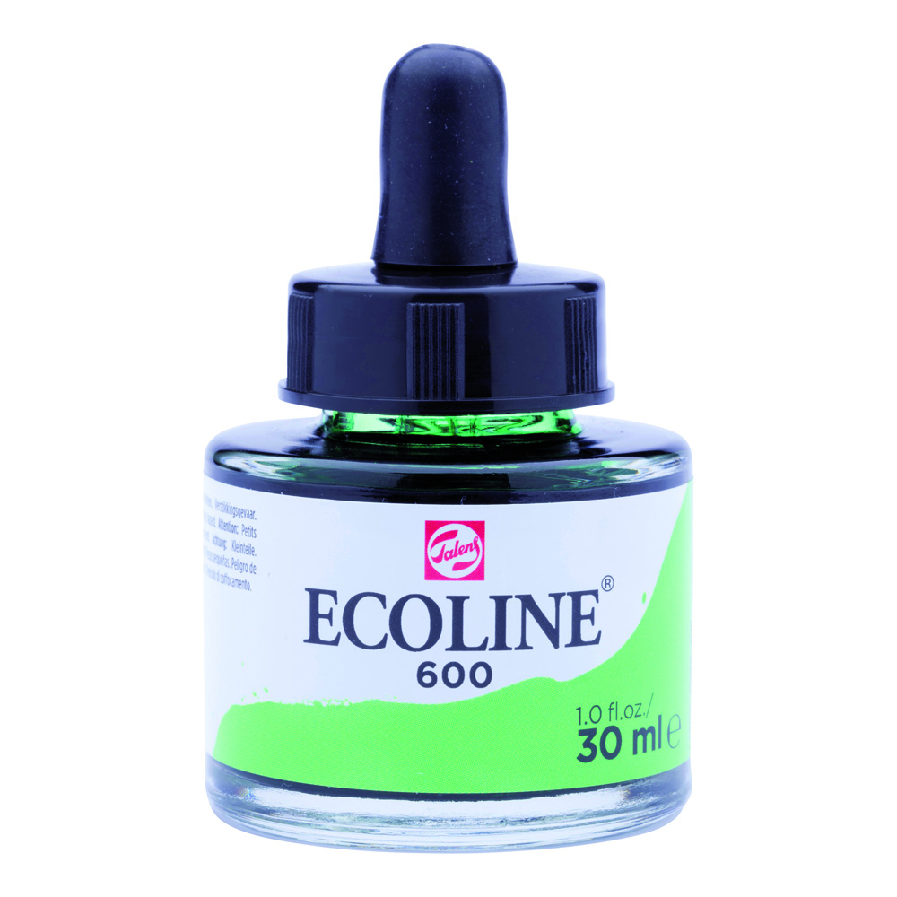 Ecoline Watercolor w/Pipette 30ml Green