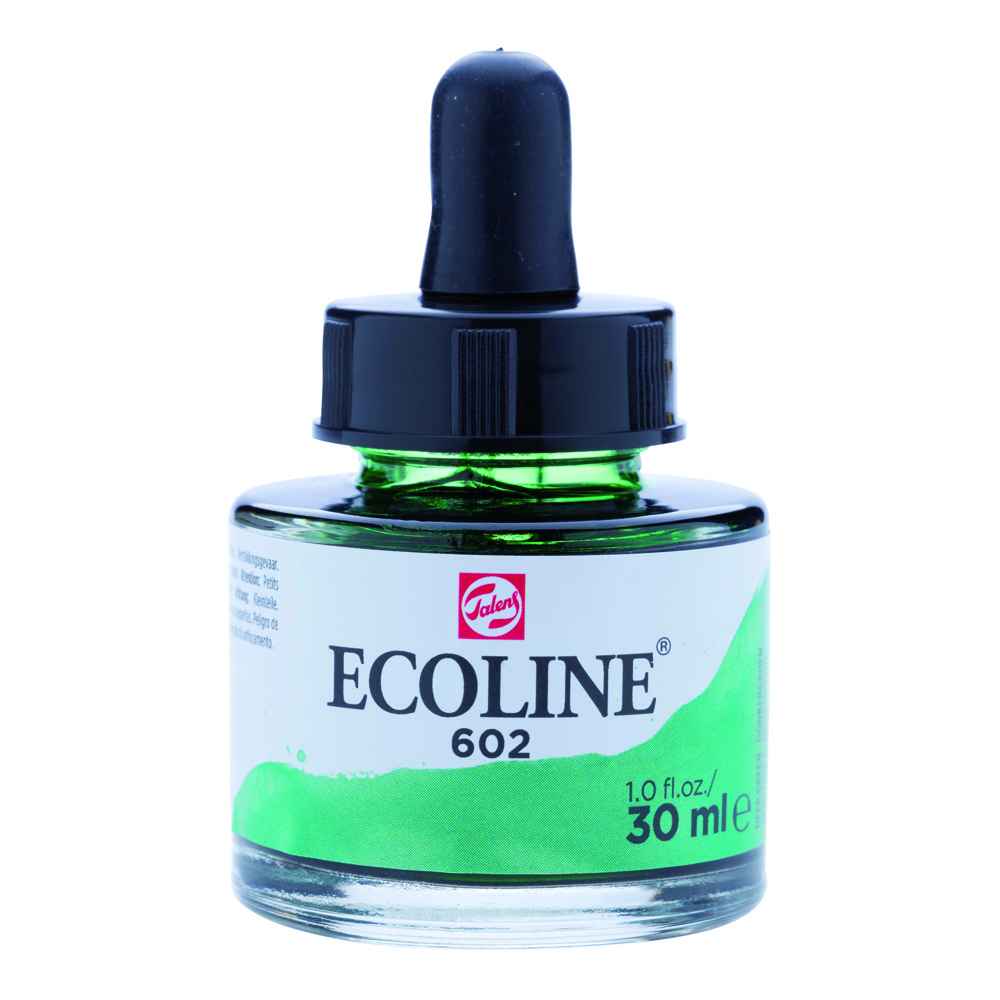 Ecoline Watercolor w/Pipette 30ml Deep Green