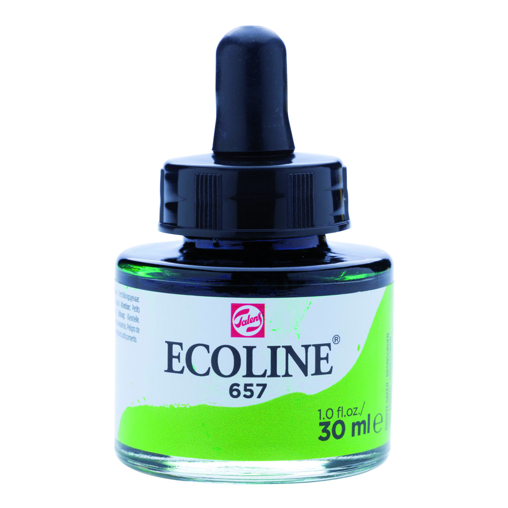 Ecoline Watercolor w/Pipette 30ml Bronze Gn