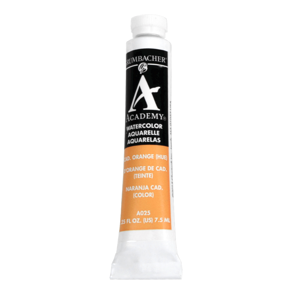 Academy Watercolor 7.5Ml Cadmium Orange
