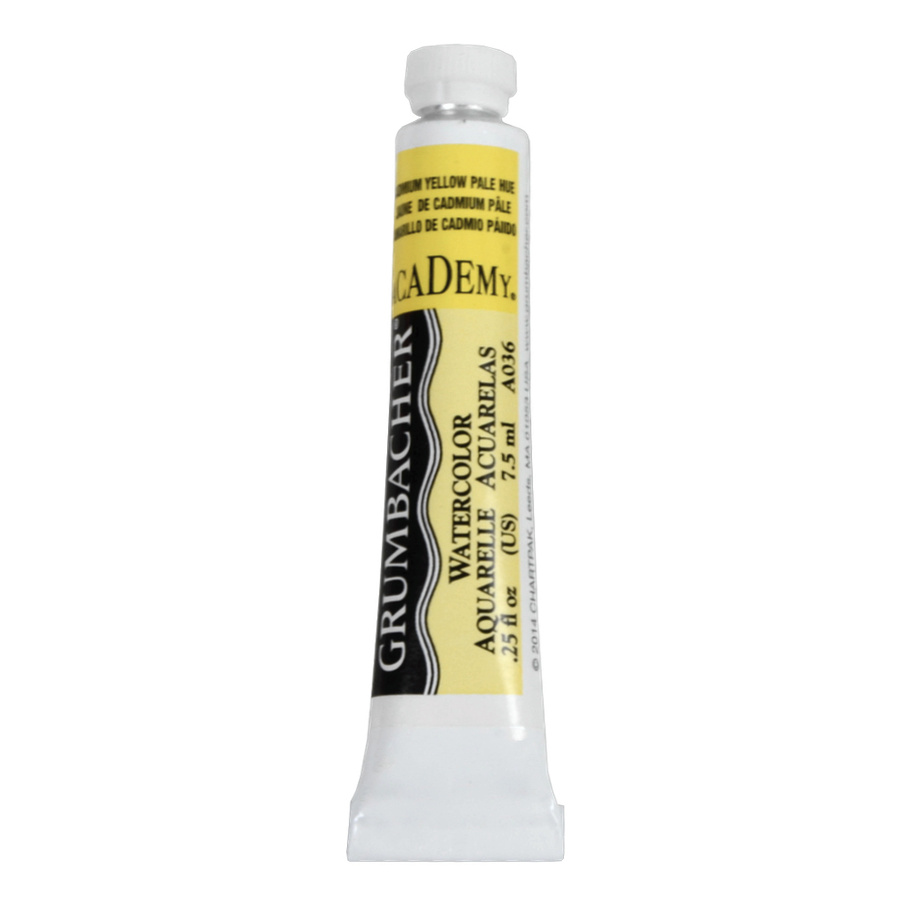 Academy Watercolor 7.5Ml Cadmium Yellow Pale